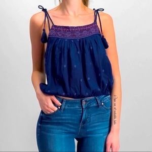 Free People Eternal Love embroidered Tank top